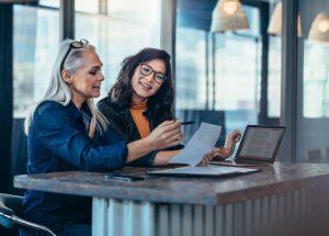 Deux femmes entrepreneurs font le point